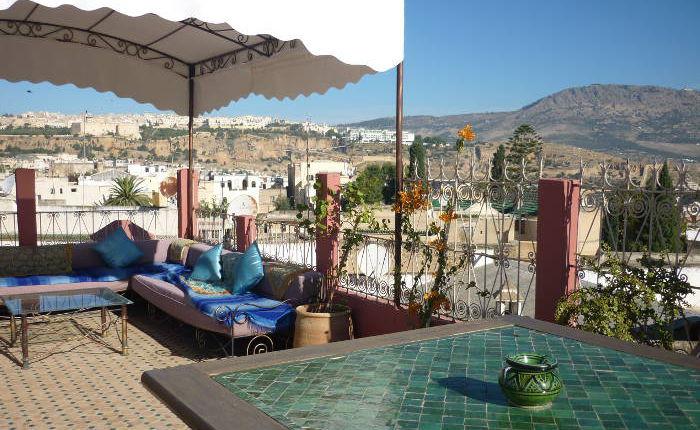Riad Accomodation In Fes Morocco